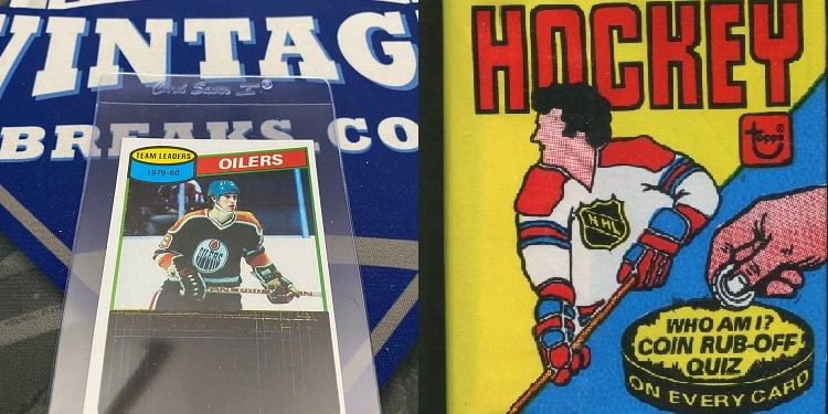 1980 Topps Wayne Gretzky Unscratched Checklist Pulled From Pack