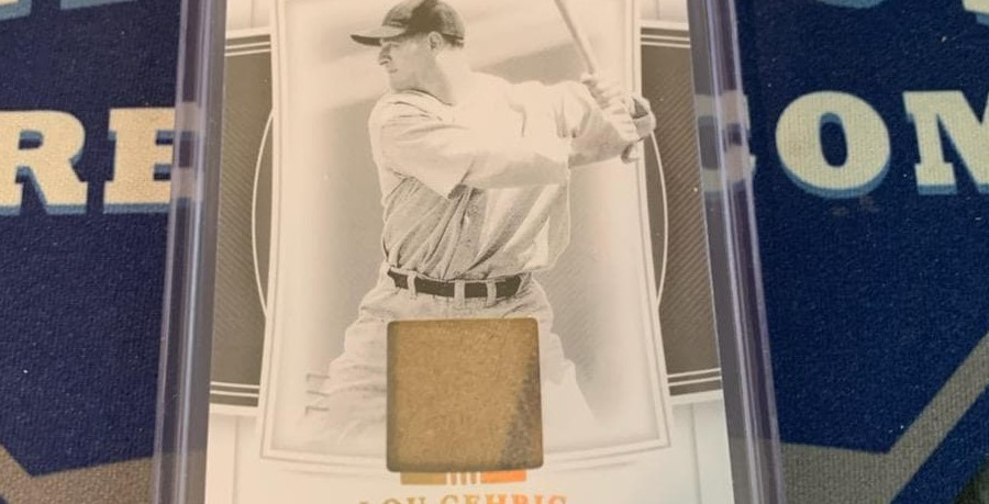 Lou Gehrig Game-Used Materials 7/7 Pulled from 2020 National Treasures